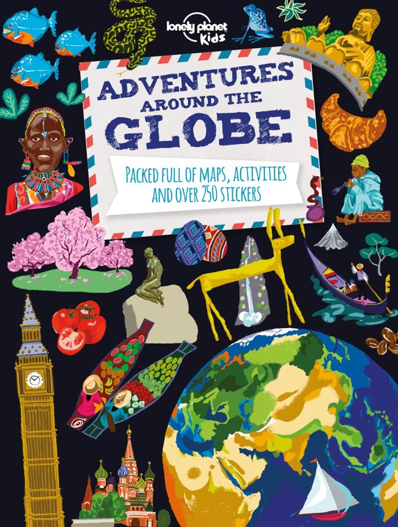 Adventures Around the Globe | Paperback Book
