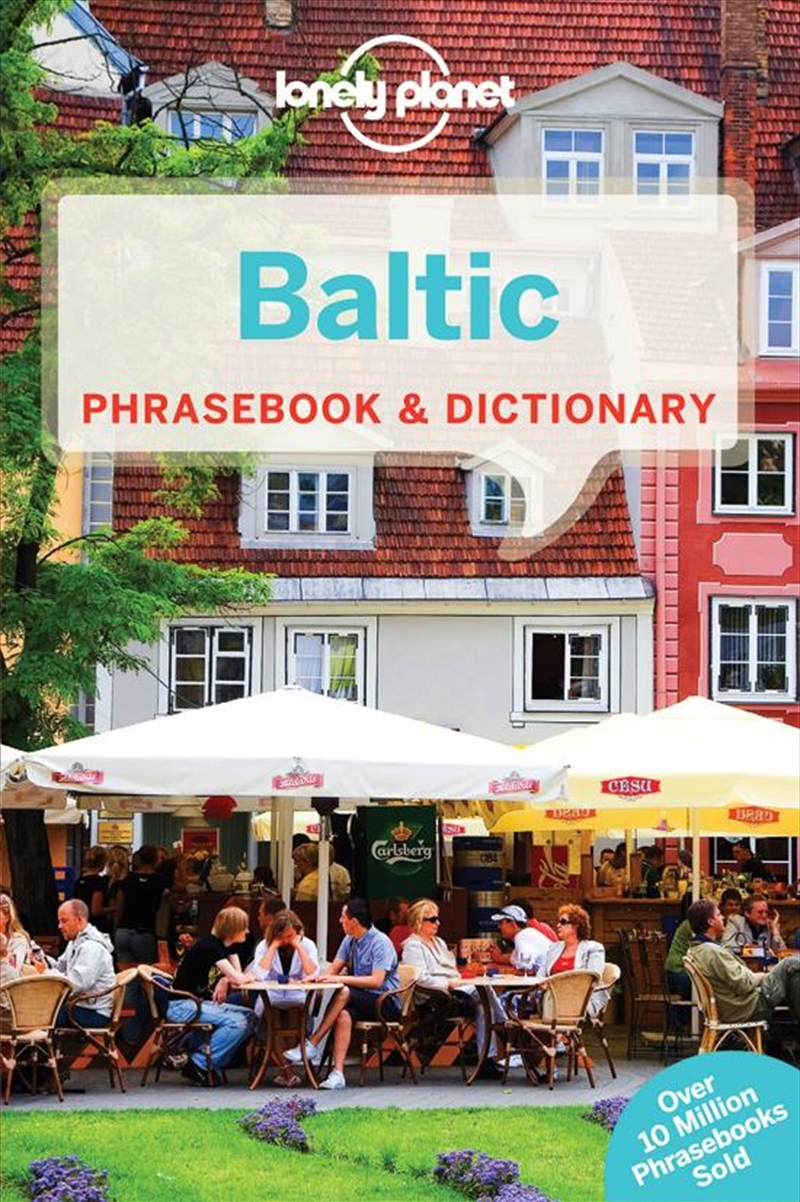 Lonely Planet Baltic Phrasebook | Paperback Book
