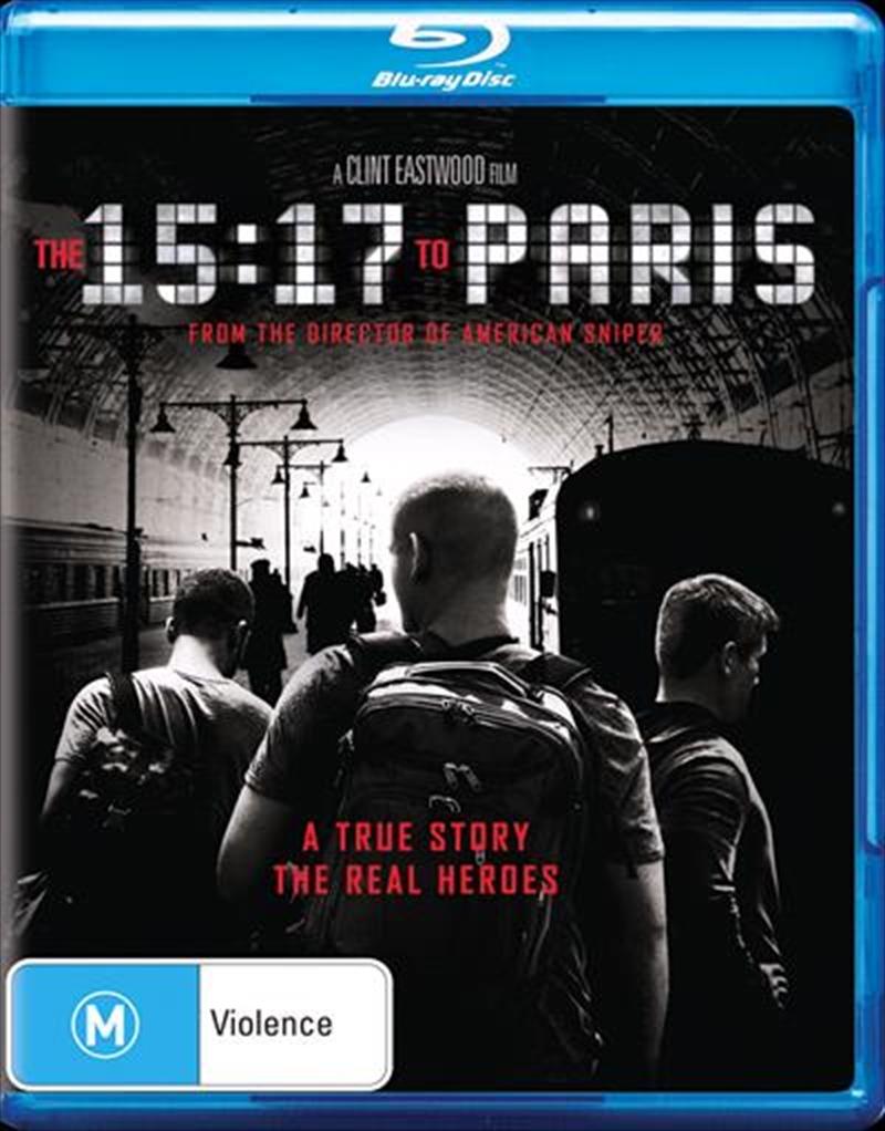 15:17 To Paris, The | Blu-ray