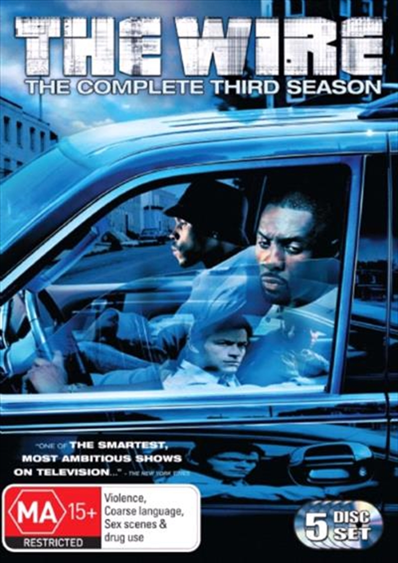 Wire - Season 03, The | DVD