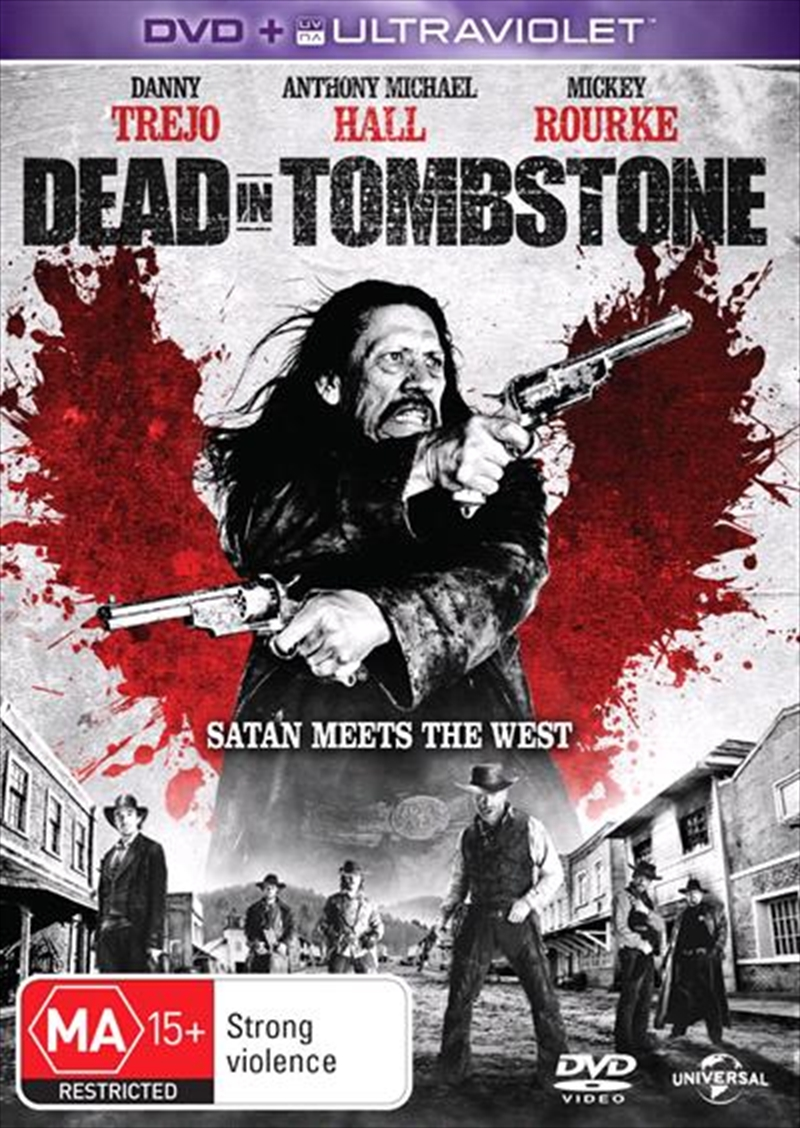 Dead In Tombstone | DVD