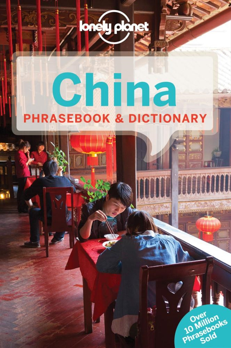 Lonely Planet China Phrasebook | Paperback Book