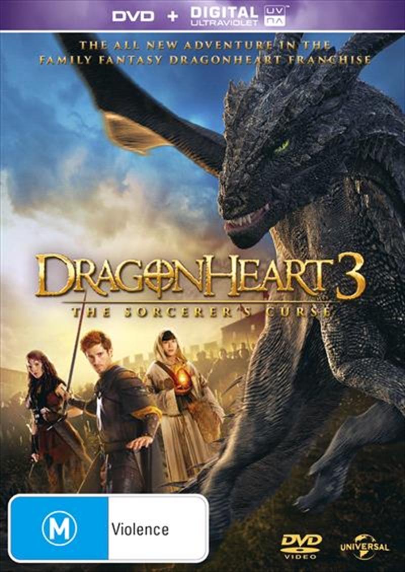 Dragonheart 3 - The Sorcerer's Curse | DVD