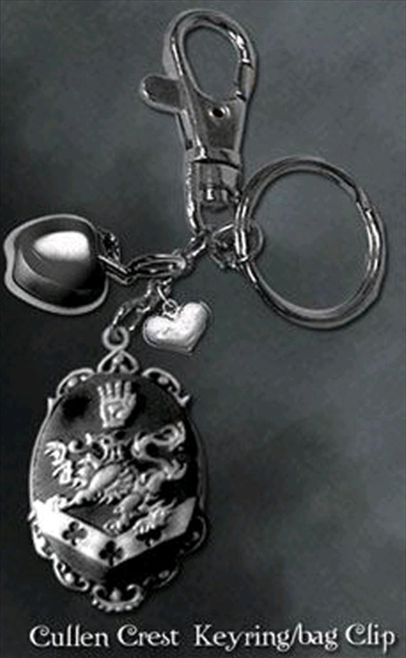 Twilight - Key Ring / Bag Clip Cullen Crest | Accessories