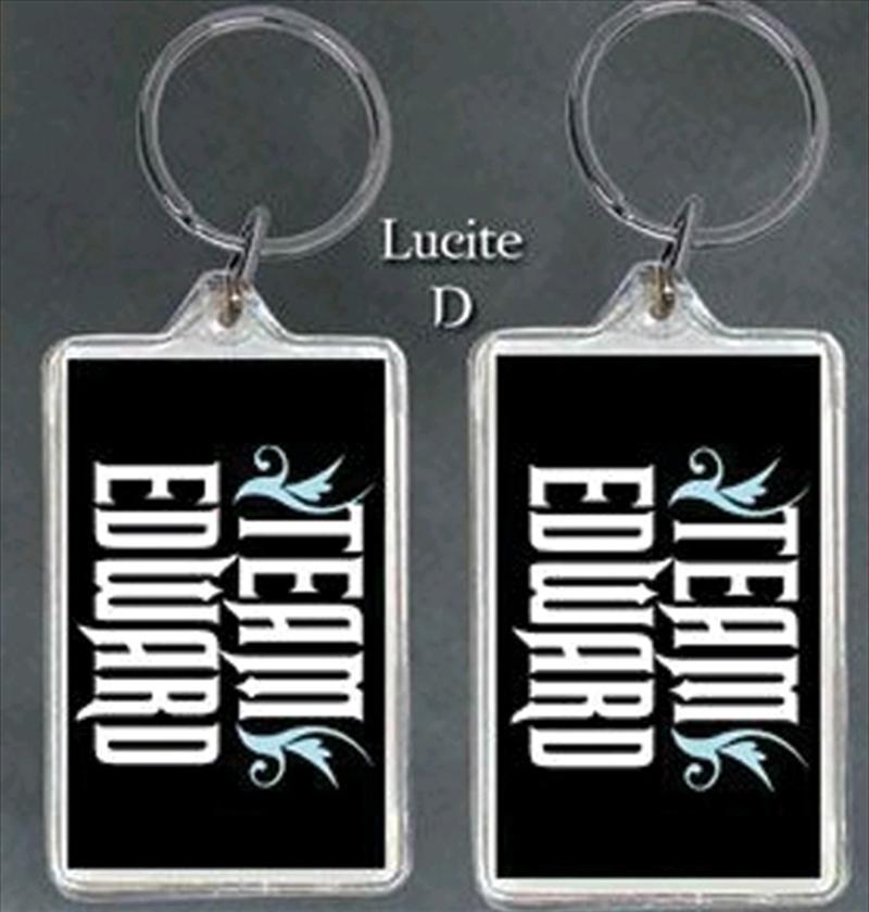 Twilight - Lucite Keychain D Team Edward | Accessories