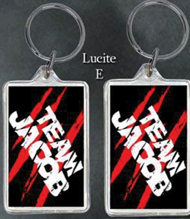 Twilight - Lucite Keychain E Team Jacob | Accessories