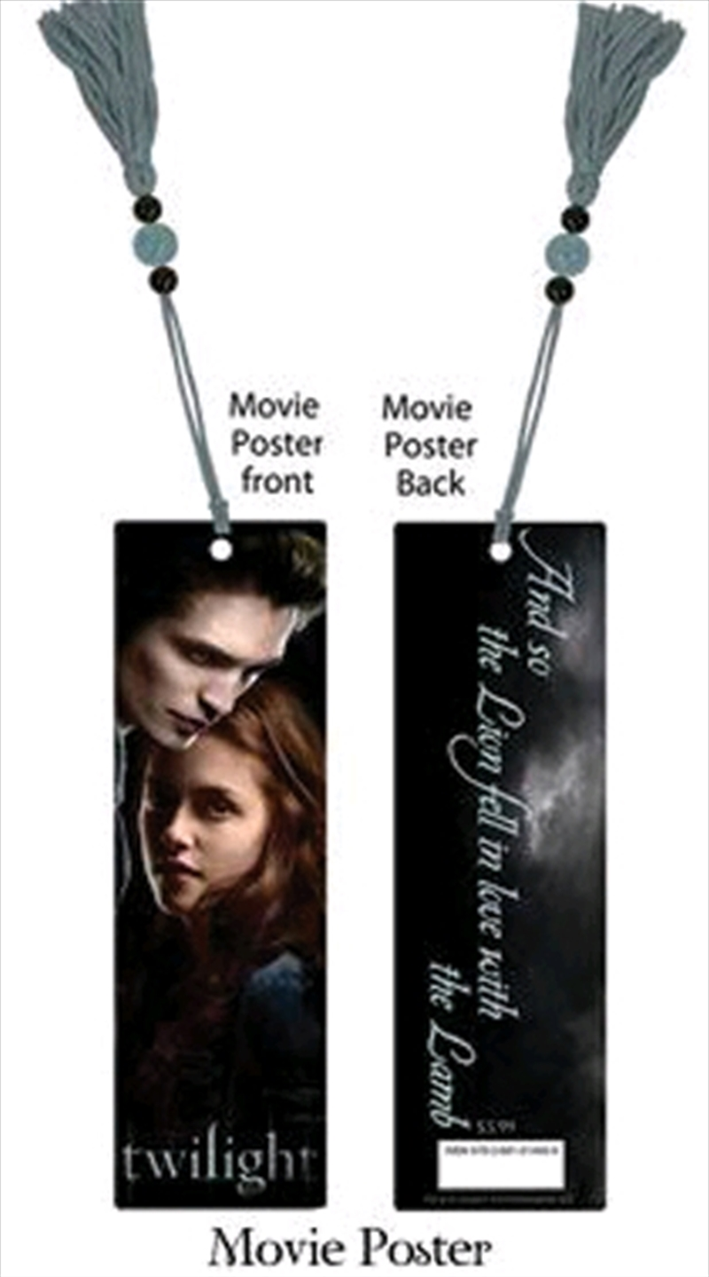 Twilight - Bookmark Movie Poster | Accessories