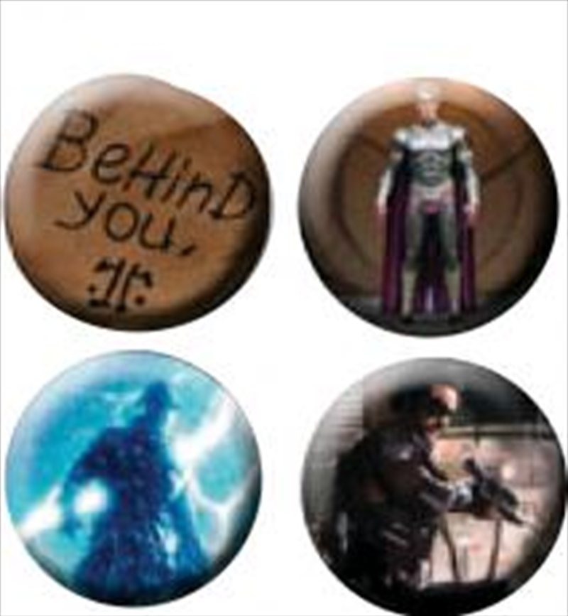 Watchmen - Pin Set Of 4 Behind You | Accessories