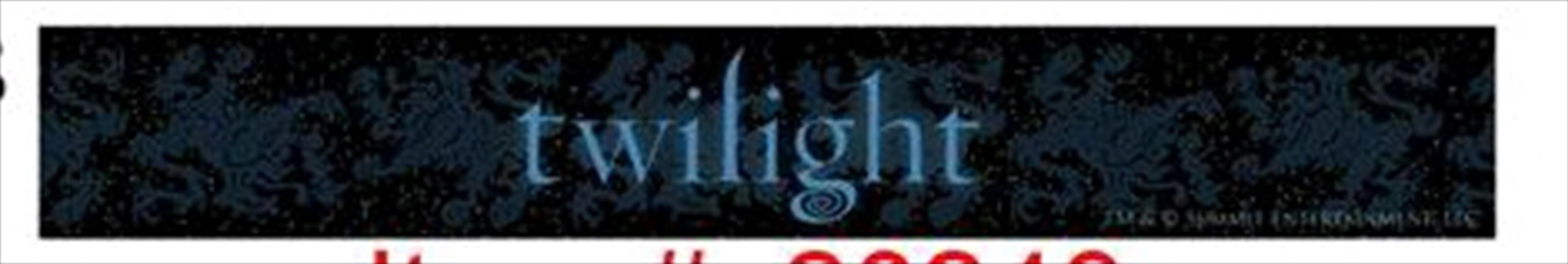 Twilight - Jewellery Slap Bracelet Logo | Apparel