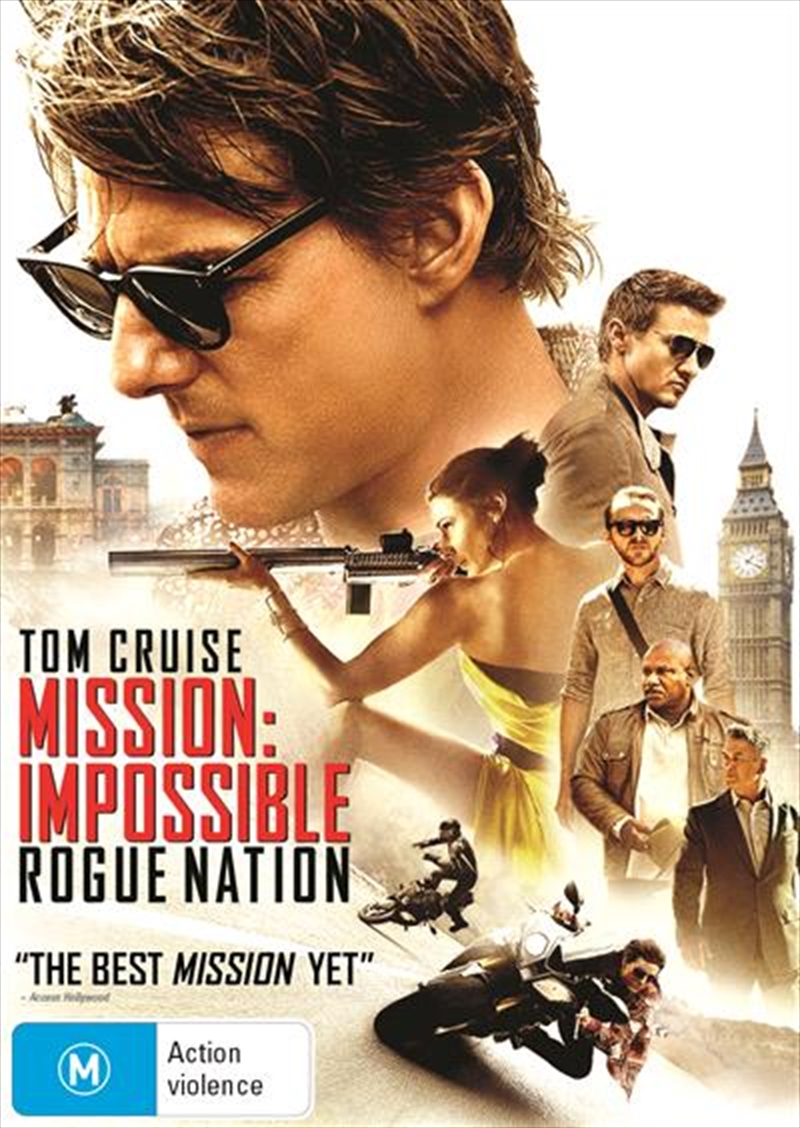 Mission Impossible - Rogue Nation | DVD