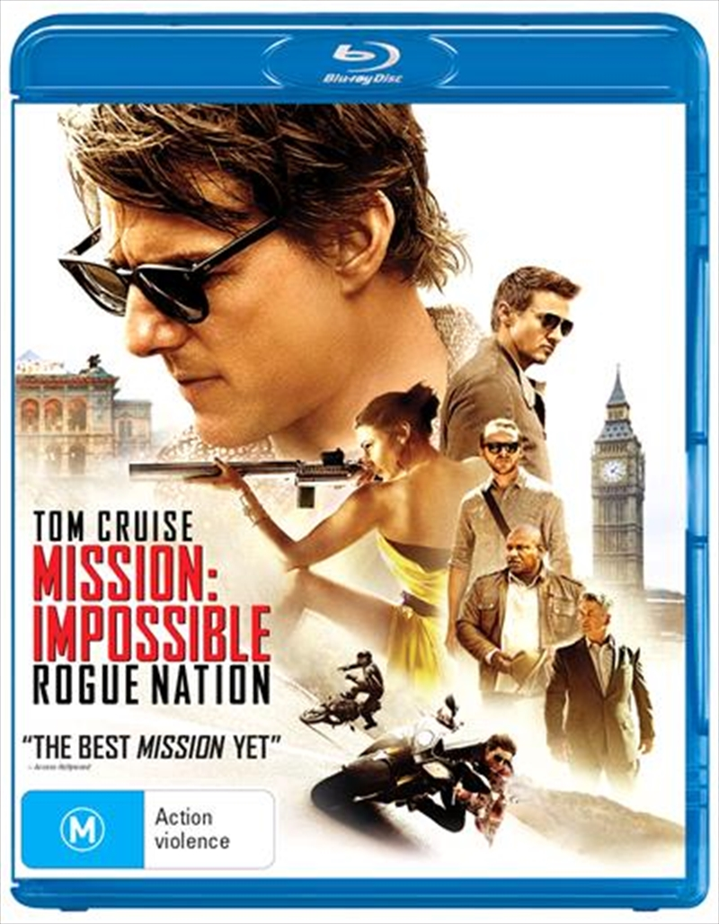Mission Impossible - Rogue Nation | Blu-ray