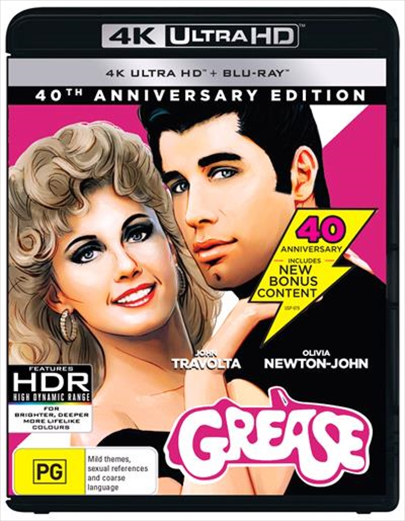 Grease - 40th Anniversary Edition | UHD