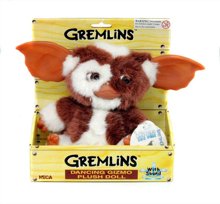 "Gremlins - Gizmo 8"" Musical Dancing Plush | Merchandise"