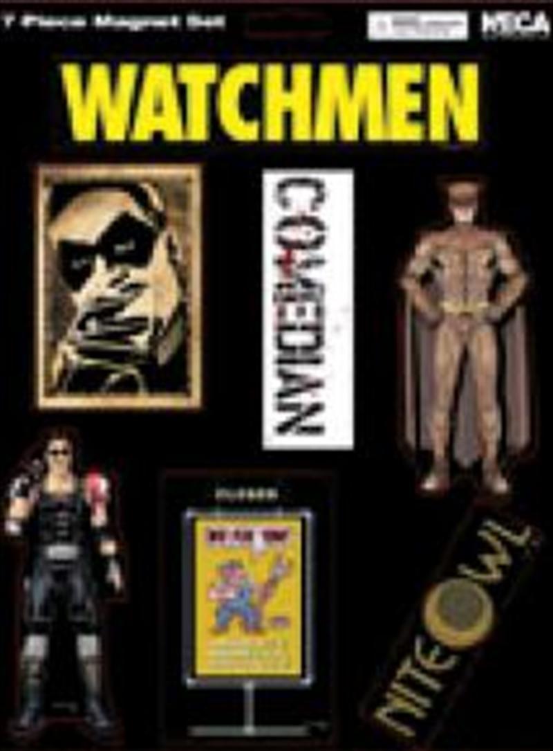 Watchmen - Magnet Sheet Comedian / Nite Owl   Merchandise