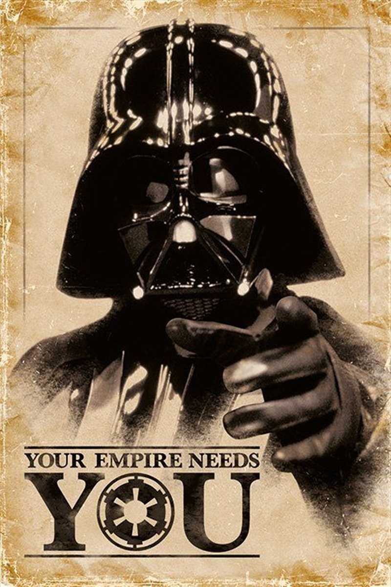 Star Wars - Your Empire Needs You | Merchandise