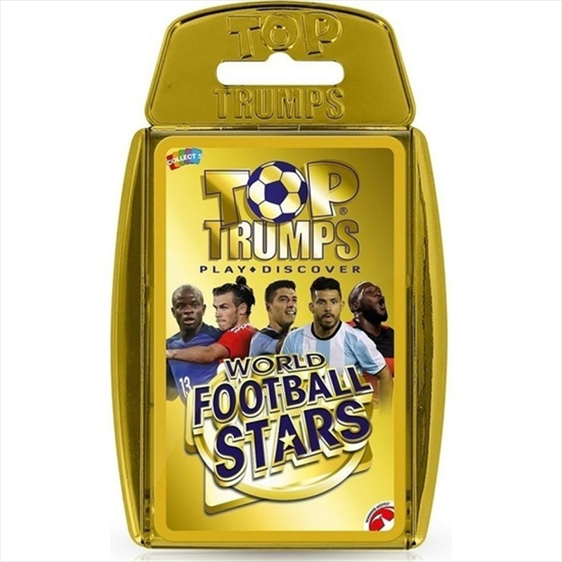 World Football Stars - Top Trumps | Merchandise