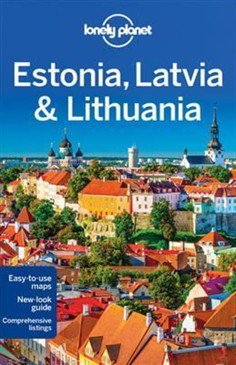 Lonely Planet Estonia, Latvia And Lithuania | Paperback Book