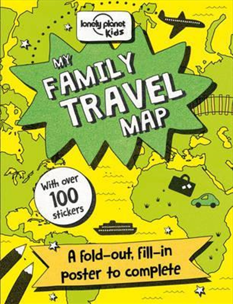 My Family Travel Map | Paperback Book