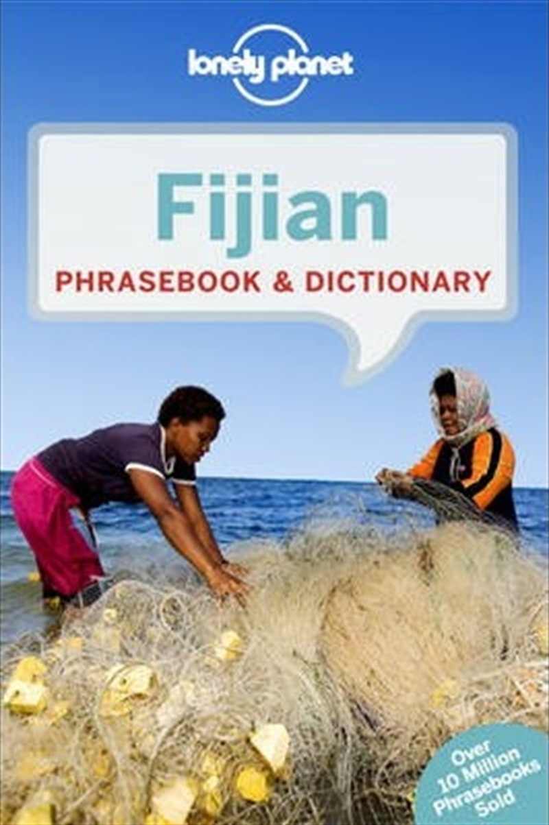 Lonely Planet Fijian Phrasebook And Dictionary | Paperback Book