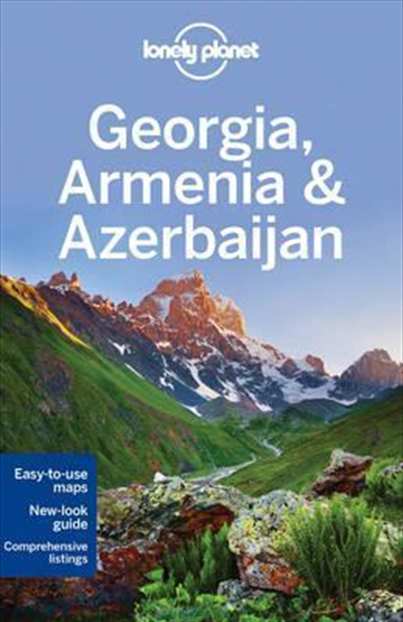 Lonely Planet Georgia, Armenia And Azerbaijan | Paperback Book
