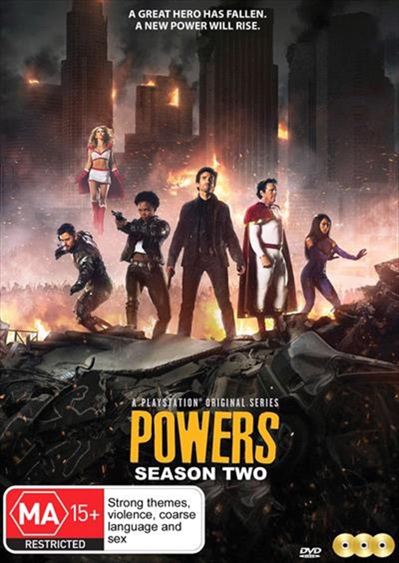Powers - Season 2 | DVD