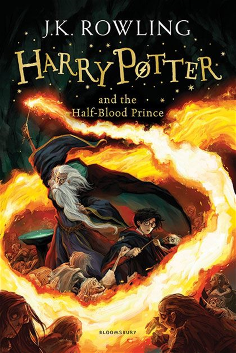 Harry Potter and the Half-Blood Prince | Paperback Book