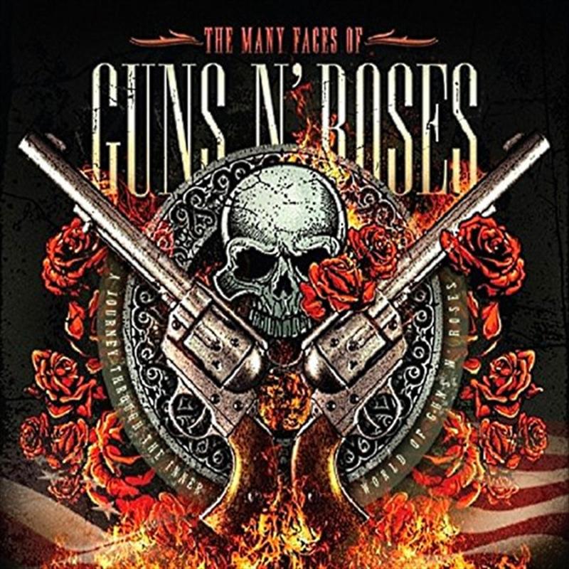 Many Faces Of Guns N Roses   CD