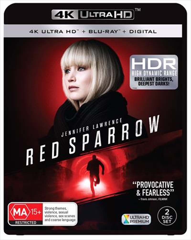 Red Sparrow 2018 BluRay 720p 970MB 5.1 ( Hindi – English ) ESubs MKV