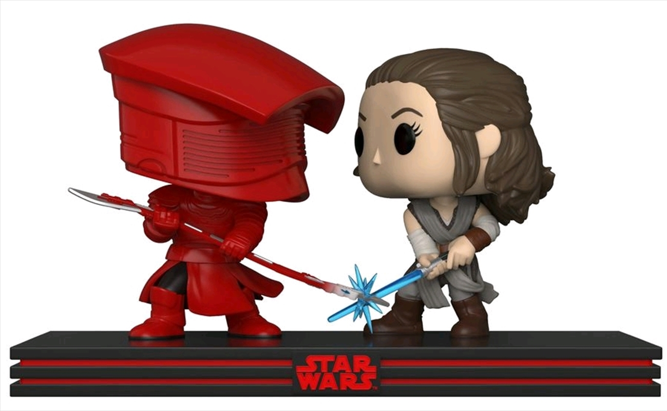 Star Wars - Rey & Praetorian Guard Movie Moments Pop! Vinyl | Pop Vinyl