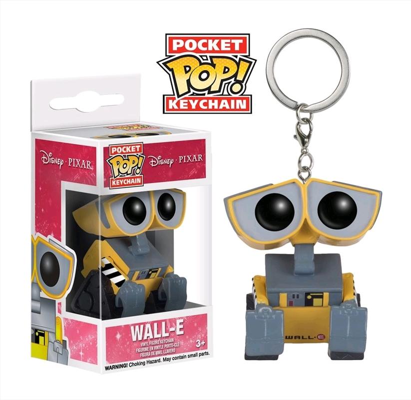 Wall-E - Wall-E Pocket Pop! Keychain | Pop Vinyl