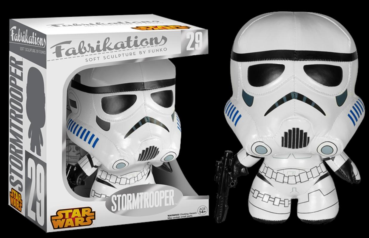 Star Wars - Stormtrooper Fabrikations Plush | Toy