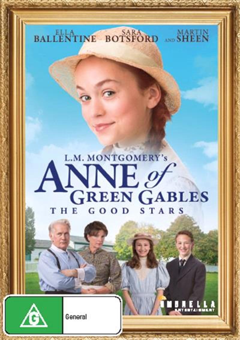 Buy Anne Of Green Gables The Good Stars On Dvd Sanity