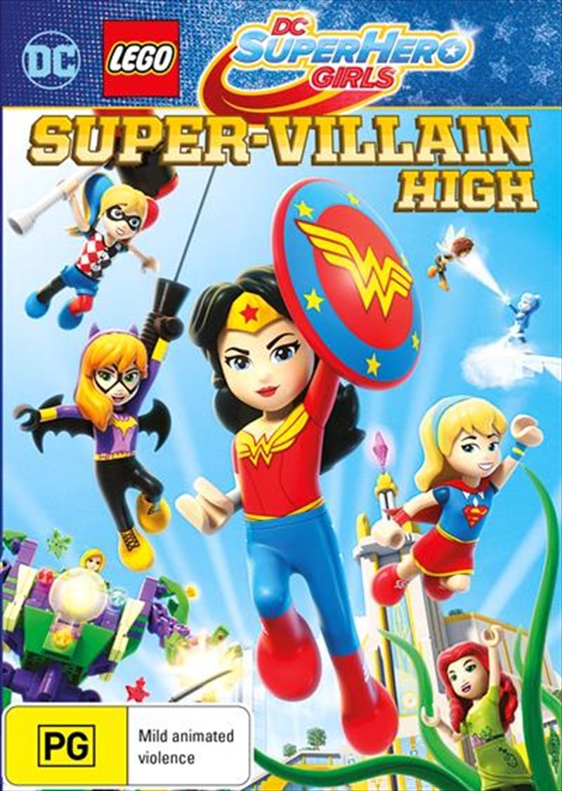 DC Super Hero Girls - Super-Villain High   DVD