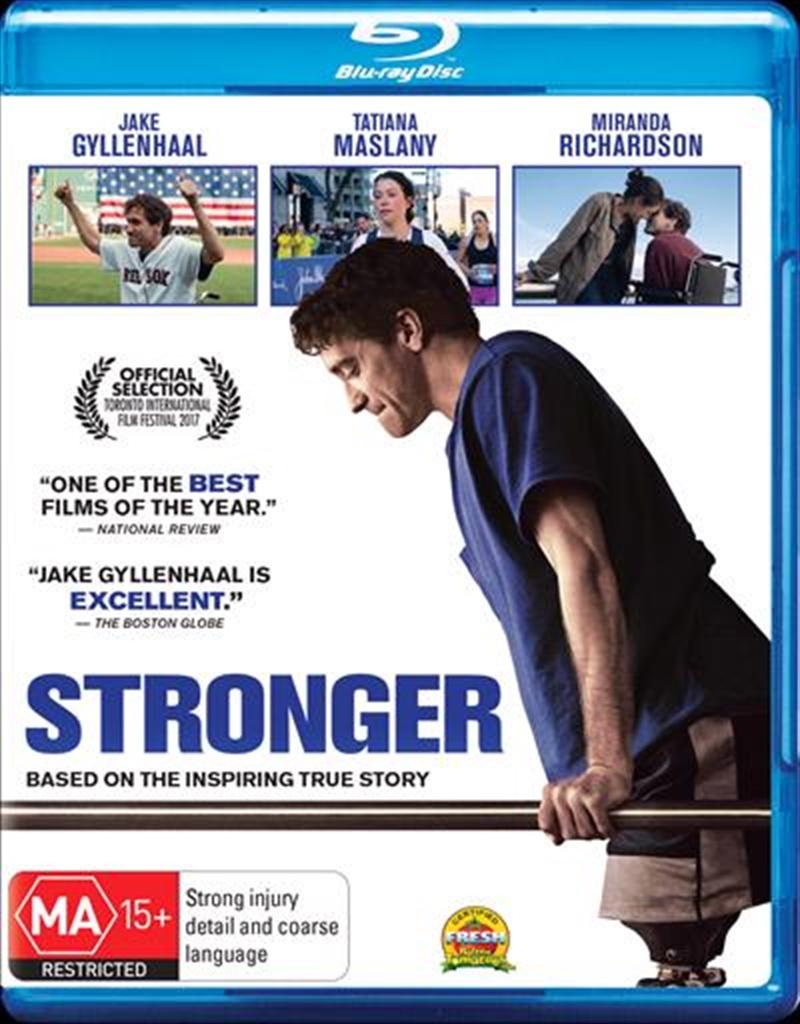 Stronger   Blu-ray