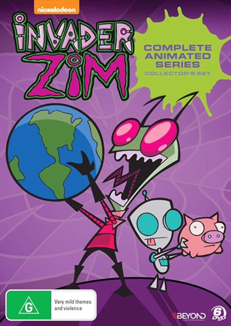 Invader Zim - Collector's Set   Series Collection   DVD