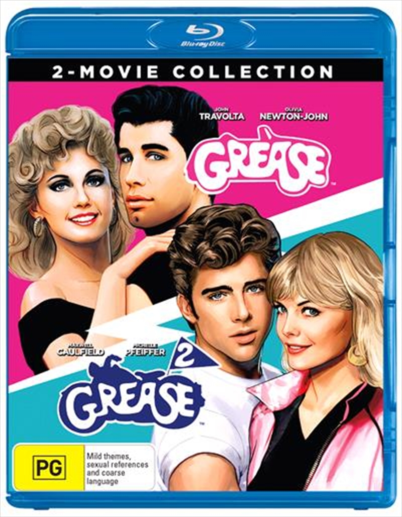 Grease / Grease 2 Boxset - Franchise Pack | Blu-ray