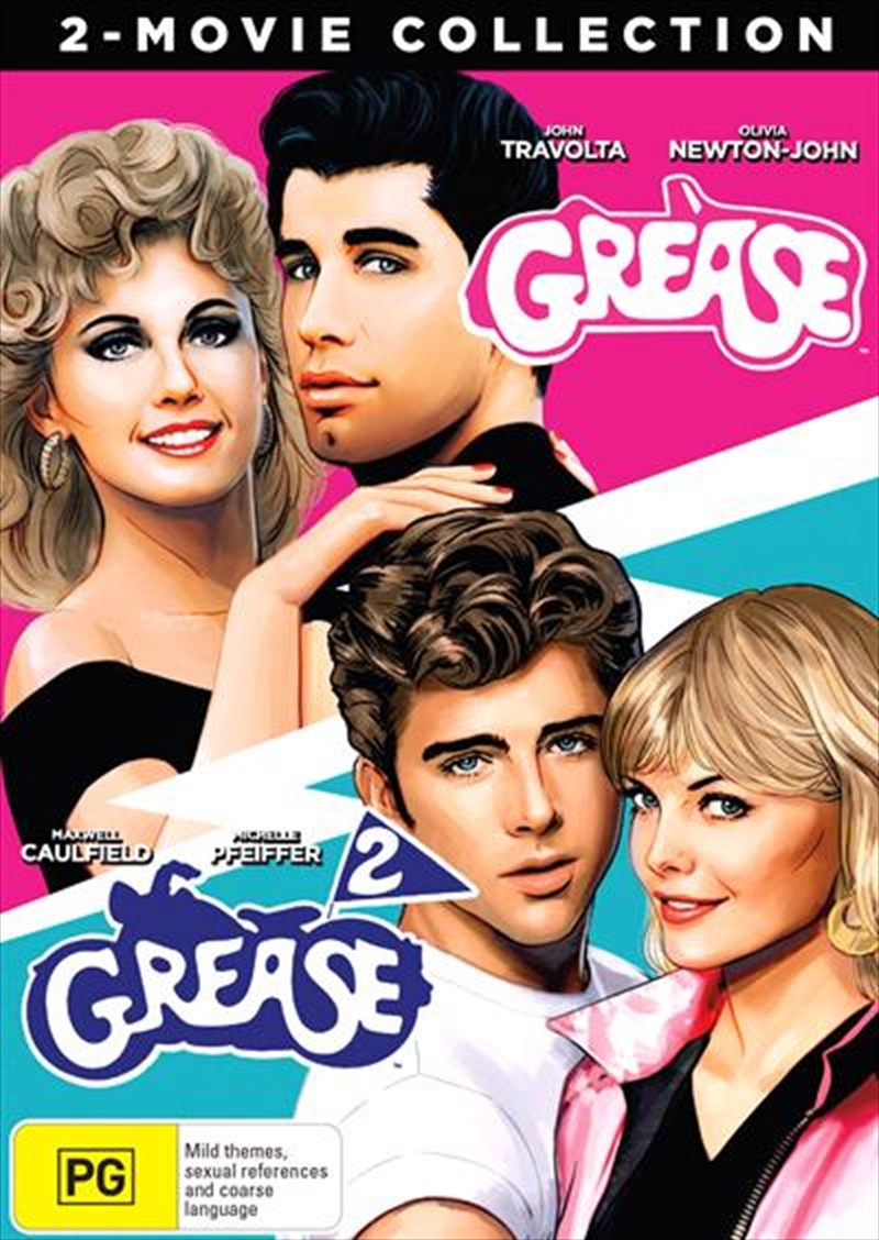 Grease / Grease 2 Boxset - Franchise Pack | DVD