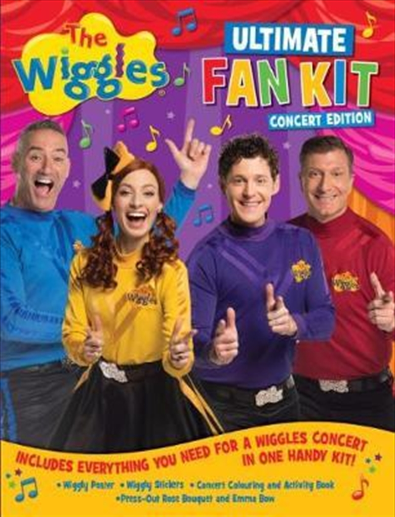 Wiggles Ultimate Fan Kit Concert Edition | Paperback Book