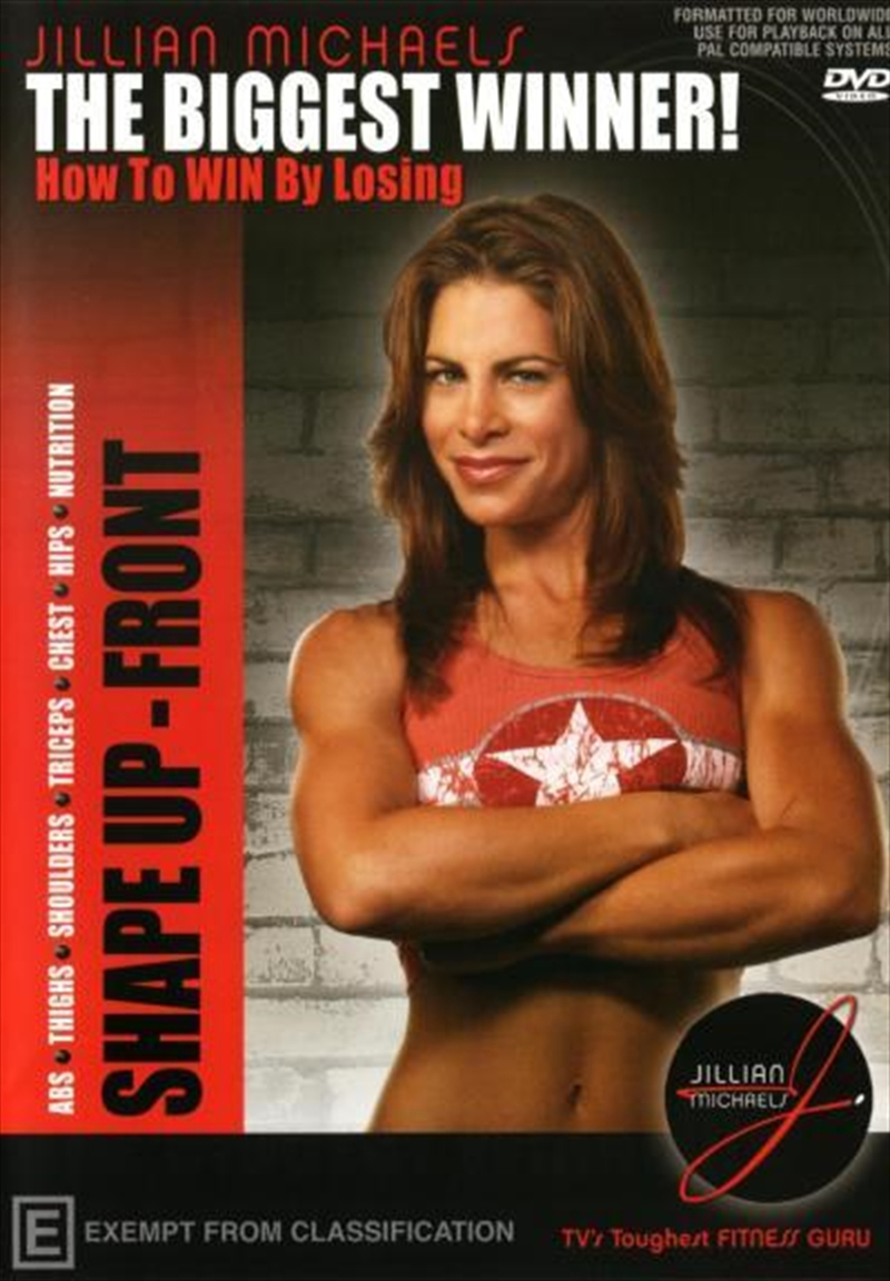 The Biggest Winner - Shape Up, Front | DVD