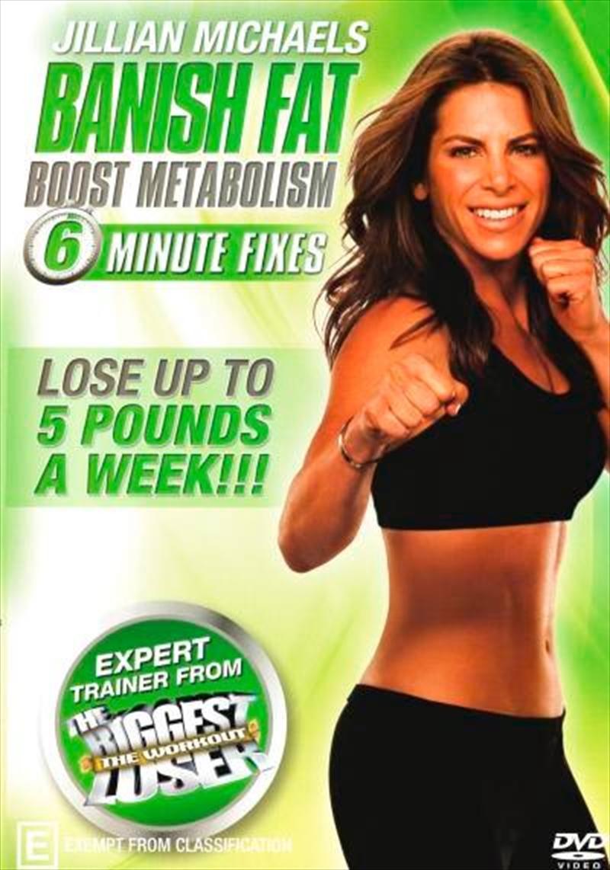 Banish Fat Boost Metabolism | DVD