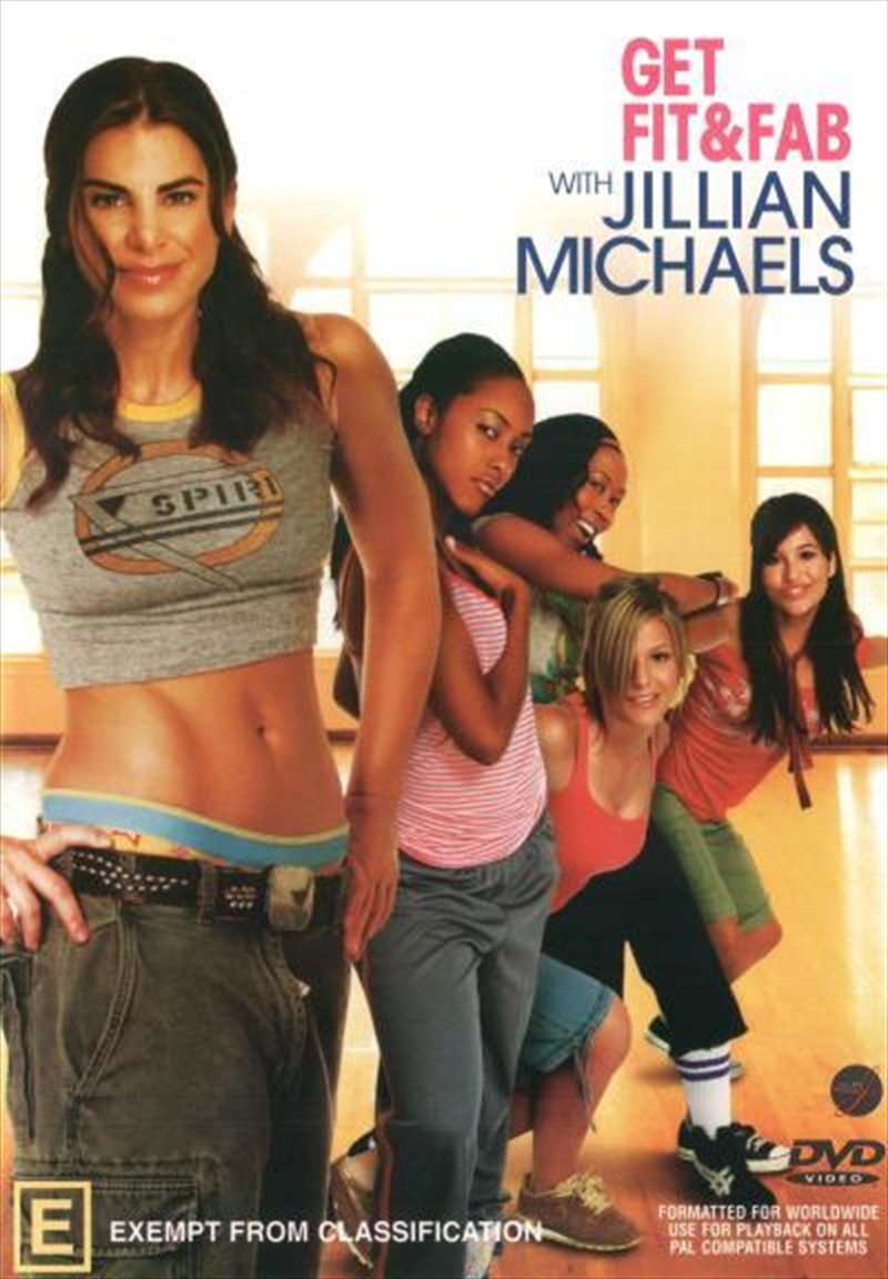 Get Fit And Fab With Jillian Michaels - Cosmo Girl | DVD