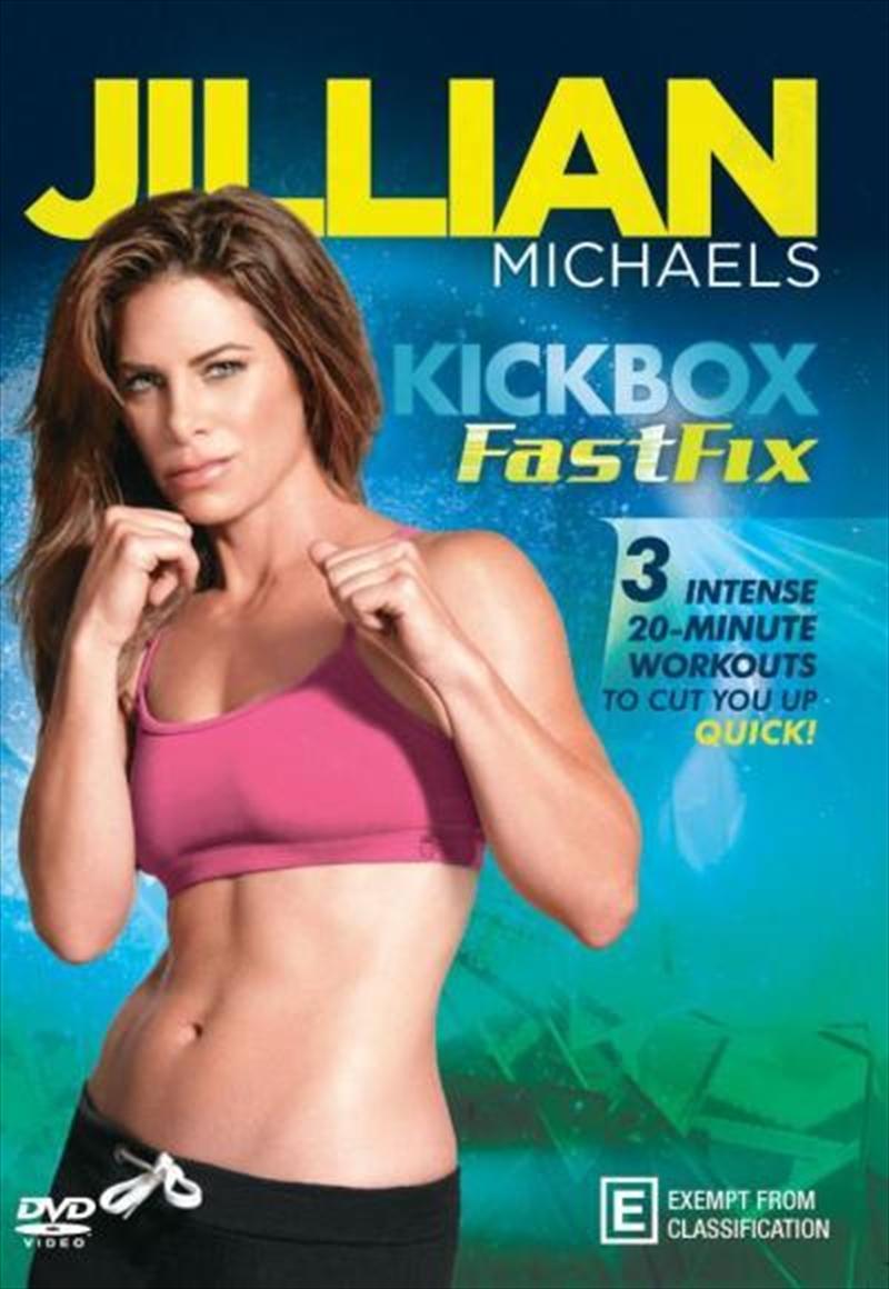 Kick Box Fast Fix | DVD