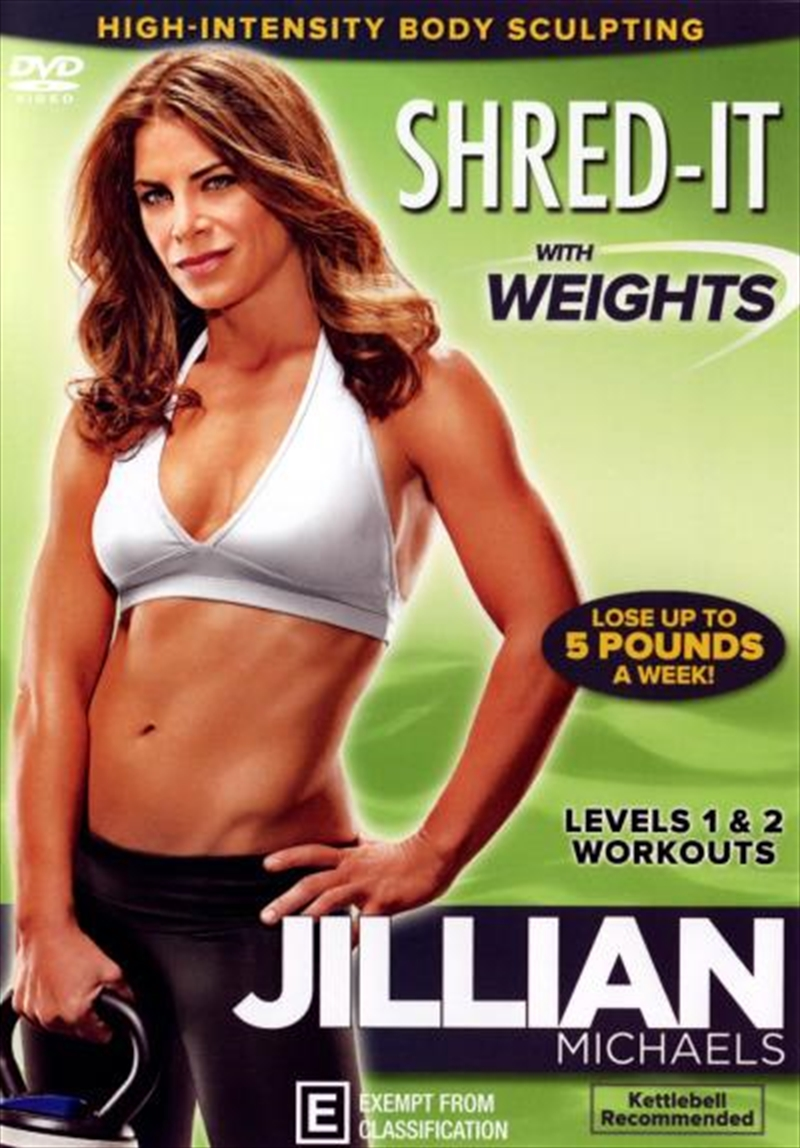 Shred It With Weights | DVD