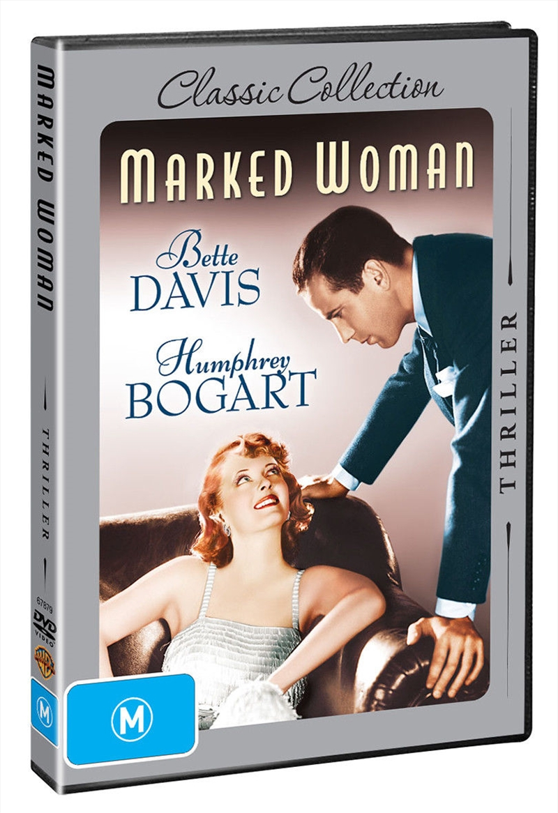 Marked Woman   DVD