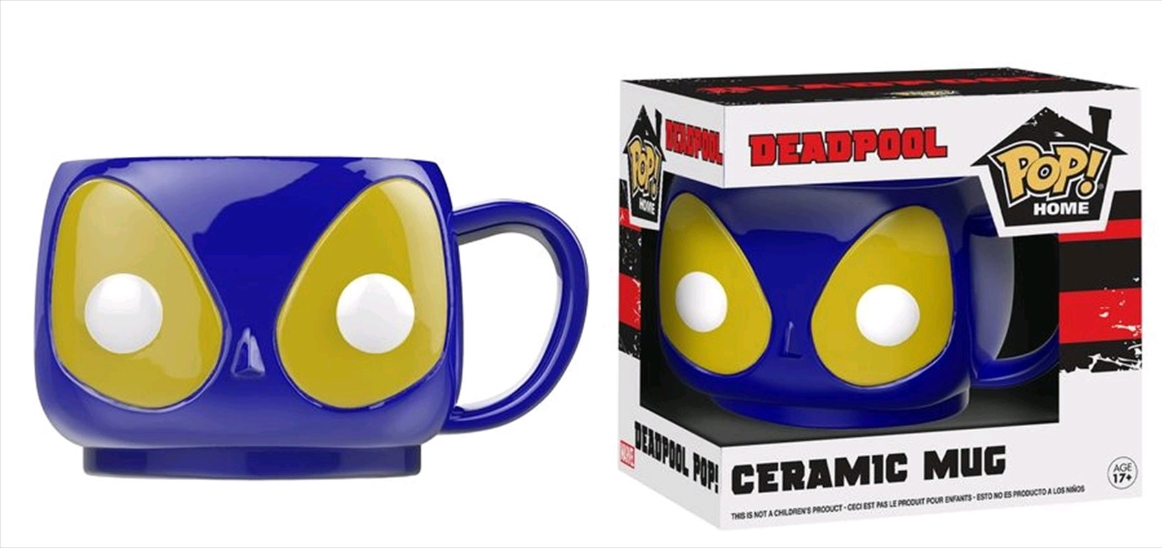 Deadpool - Deadpool Blue Pop! Mug | Merchandise