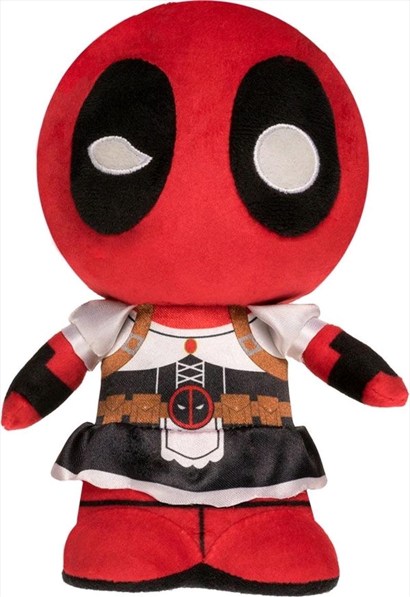 Deadpool - Deadpool as Maid SuperCute Plush | Toy