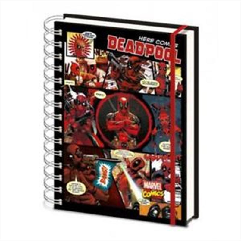 Deadpool Panels A5 Notebook | Merchandise