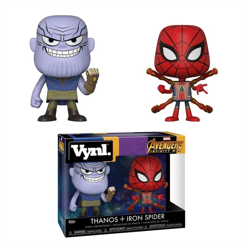 Avengers 3: Infinity War - Thanos & Iron Spider Vynl. | Merchandise