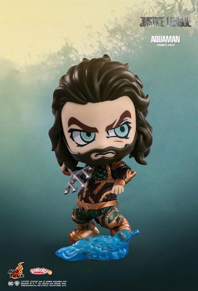 Justice League Movie - Aquaman Cosbaby | Merchandise