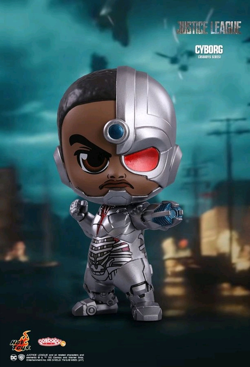 Justice League Movie - Cyborg Cosbaby | Merchandise